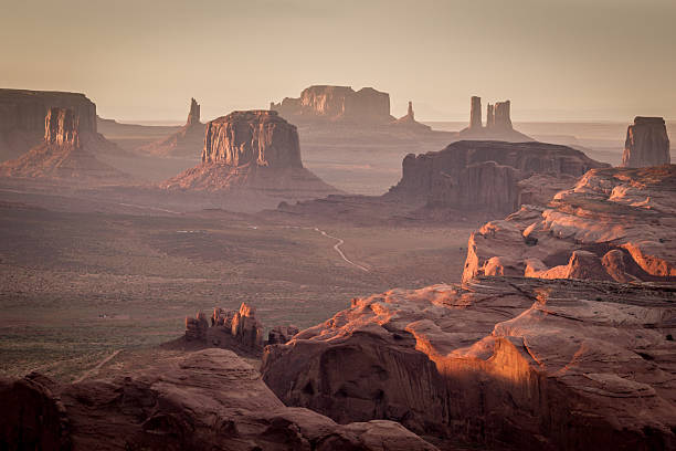 Monument Valley From The Hunt's Mesa Wall Art