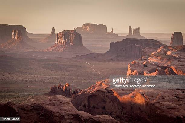 Monument Valley from the Hunt's Mesa