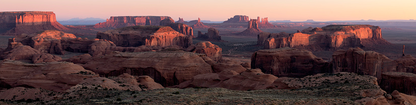Monument Valley Hunt's Mesa Panorama 517163846