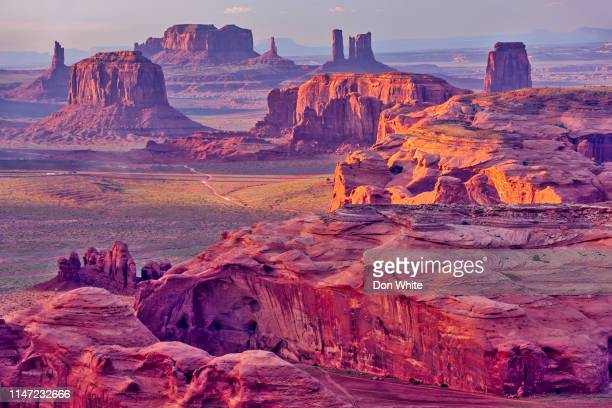 monument valley in arizona - native american reservation stock pictures, royalty-free photos & images