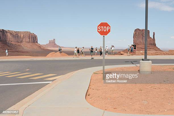 CONTENT] monument valley national park indian reservation sand desert sign tourism usa mexican hat