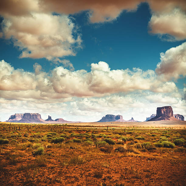 Monument Valley Panoramic View Wall Art