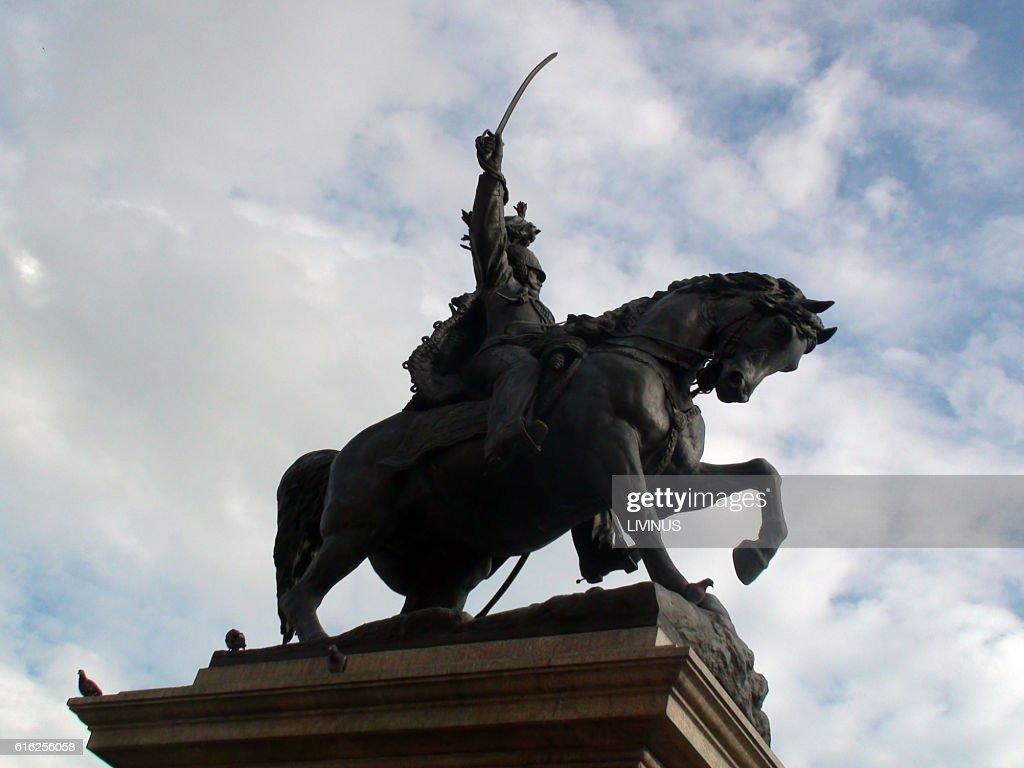 Monument Vittorio Emanuele In Venice Italy : Foto de stock