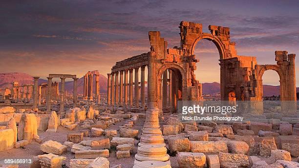 Monumental Arch, Palmyra, Syria