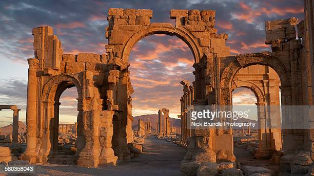 Monumental Arch, Palmyra, Syria, Unesco World Heri