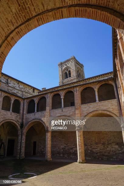 Monumental cloister San Severino Marche Marche Italy Europe