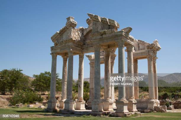 Monumental Gateway to Sanctuary of Aphrodite at Aphrodisias.