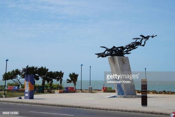 Monumento a los Alcatraces, Statue, Cartagena, Colombia