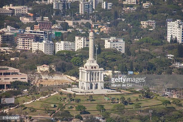 monumento a los heroes de la restauracion - monument stock pictures, royalty-free photos & images
