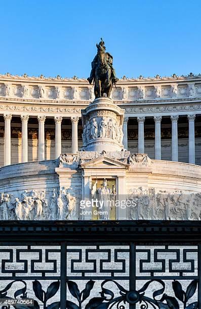 CAMPITELLI ROMA LAZIO ITALY Monumento a Vittorio Emanuele II Via del Teatro di Marcello