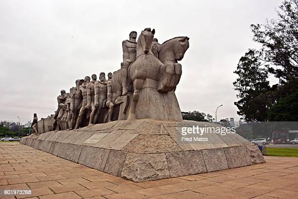 Monumento às Bandeiras - Parque do Ibirapuera - Ibirapuera Park