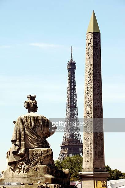 Monuments de Paris, en France