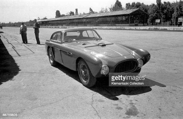 Monza April 1953 After the Mille Miglia the Aston team went back to Monza to have Peter Collins do some tests of the new DB3S While they were there...