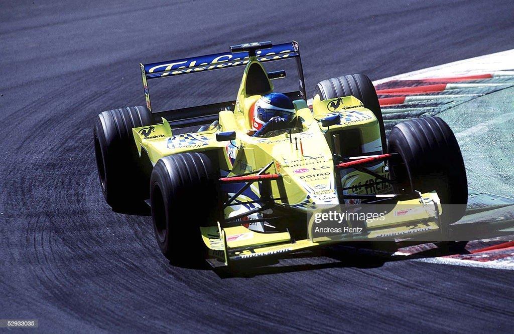 MAZZACANE/GP VON MONZA 2000 : News Photo