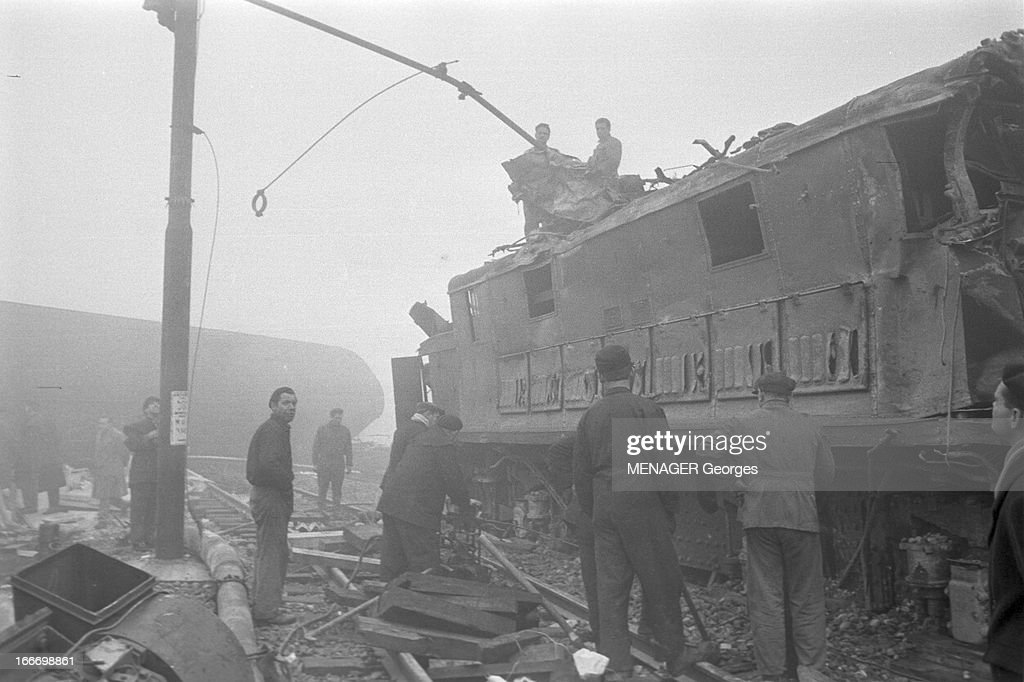 Monza Rail Disaster In 1960  Italie, janvier 1960, accident    News