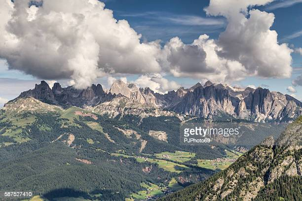 monzoni, rizzoni and costabella mountains - trentino - italy - pjphoto69 stock pictures, royalty-free photos & images