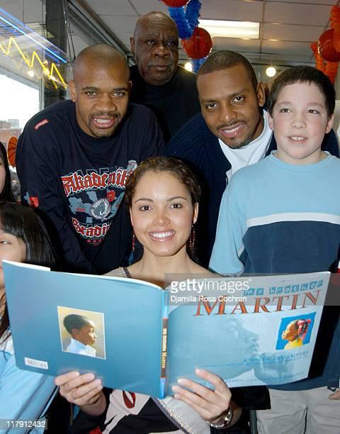 Moochie Norris Miss Usa Susie Castillo Cal Ramsey Penny Hardaway and New York City School Child