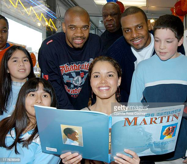 Moochie Norris Miss Usa Susie Castillo Cal Ramsey Penny Hardaway and New York City School Children