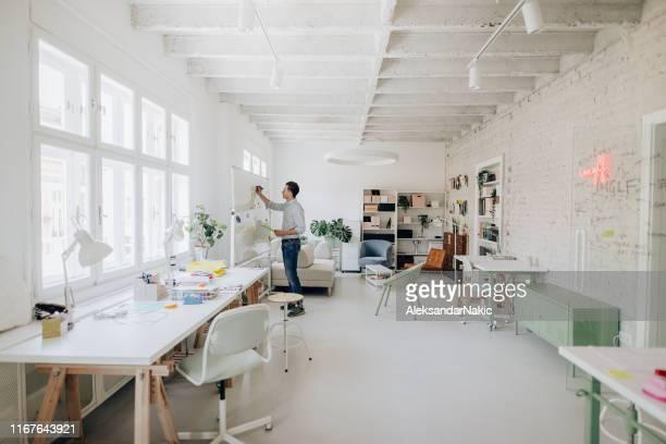 mood board - freelancer stockfoto's en -beelden