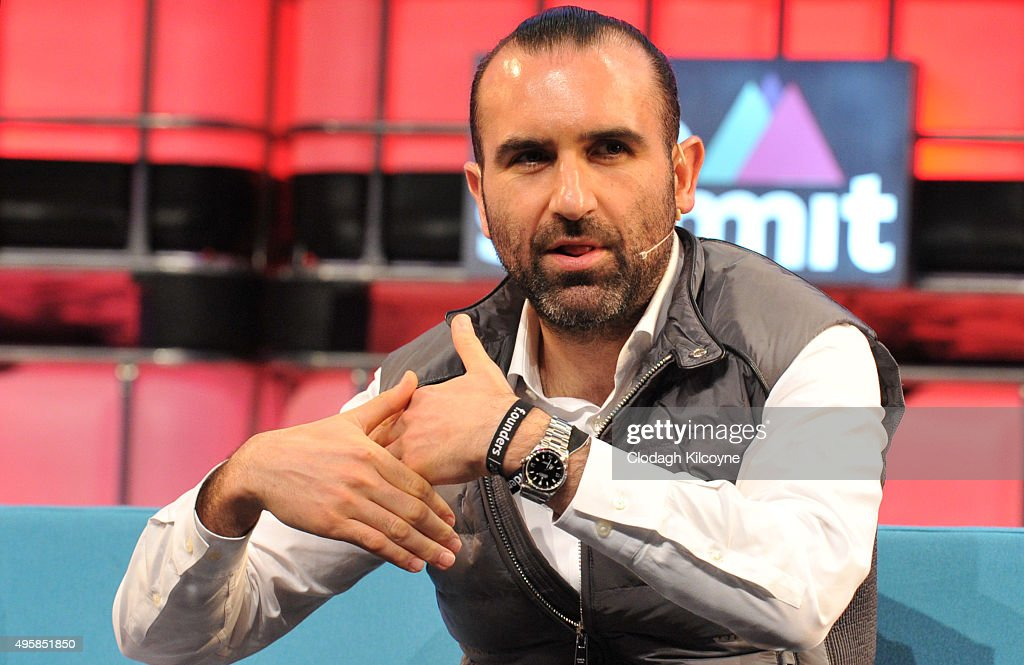Mood Rowghani, partner at KPCH speaks on stage about tomorrow's tech landscape during the third day of the 2015 Web Summit on November 5, 2015 in Dublin, Ireland. The Web Summit is now in it's 4th year and is technology's most global gathering. In numbers, it has 42,000 attendees from 134 countries, 1,000 speakers, 2,100 startups and 1,200 media.
