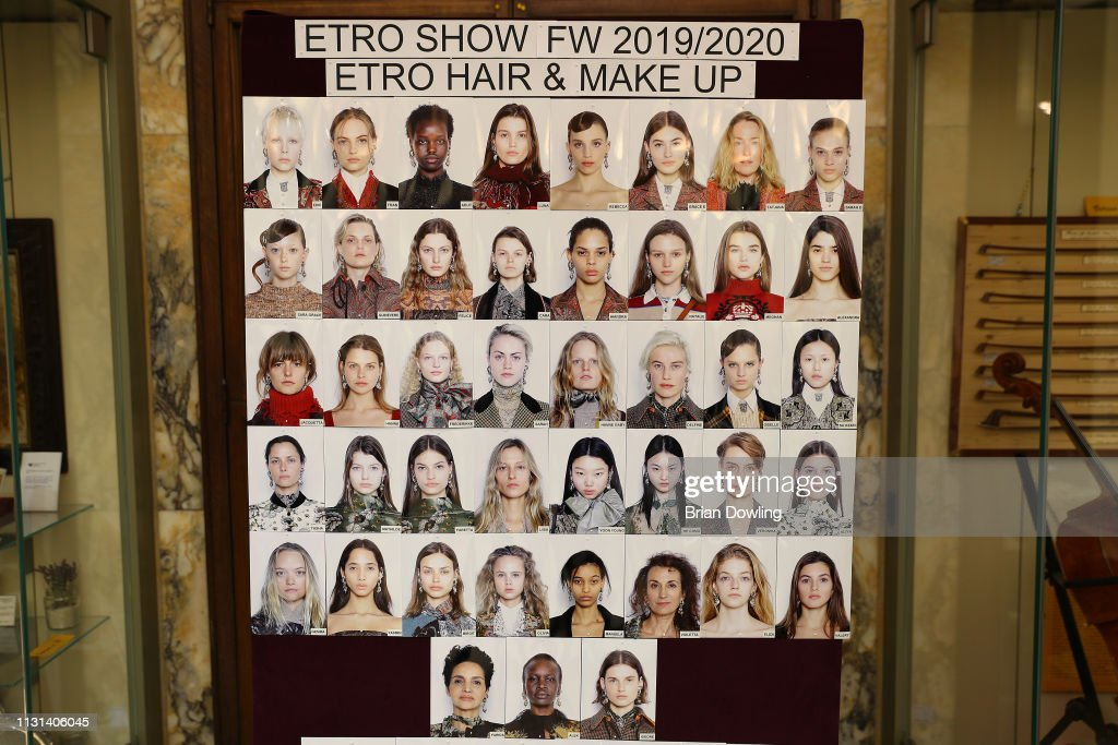 ITA: Etro - Backstage: Milan Fashion Week Autumn/Winter 2019/20