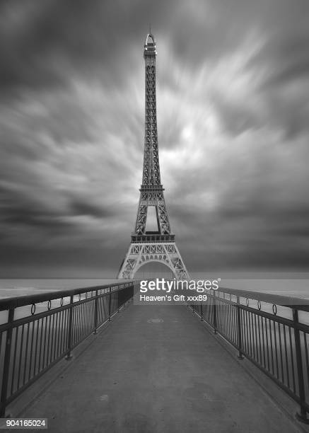 moody black and white mysterious surreal  landscape