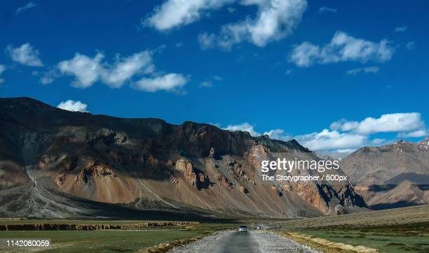 moody landscape on the manali leh highway - the storygrapher stock pictures, royalty-free photos & images