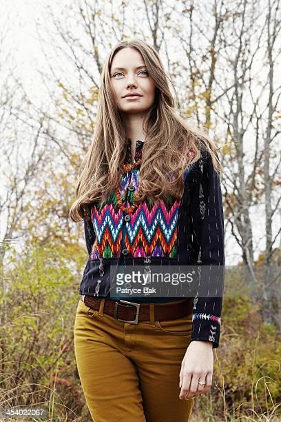 Moody Maine Coast Fall Fashion