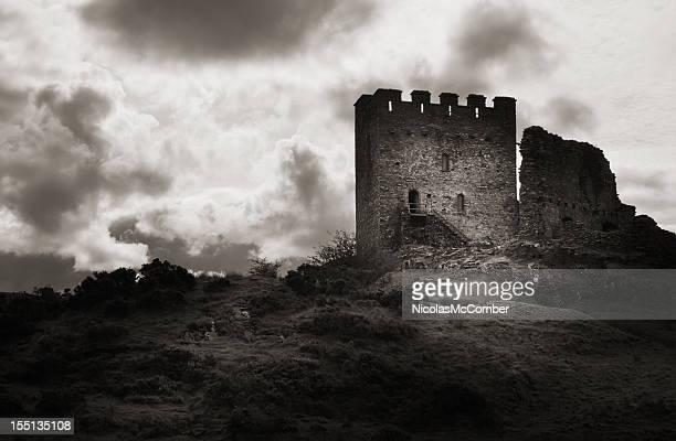 Moody vieux Ruines du château