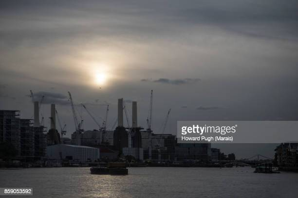 Moody Sunset Scenes From Battersea