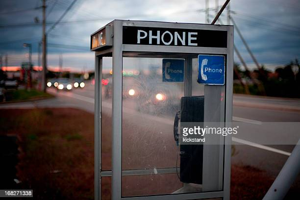 moody telephone booth - telephone booth stock pictures, royalty-free photos & images