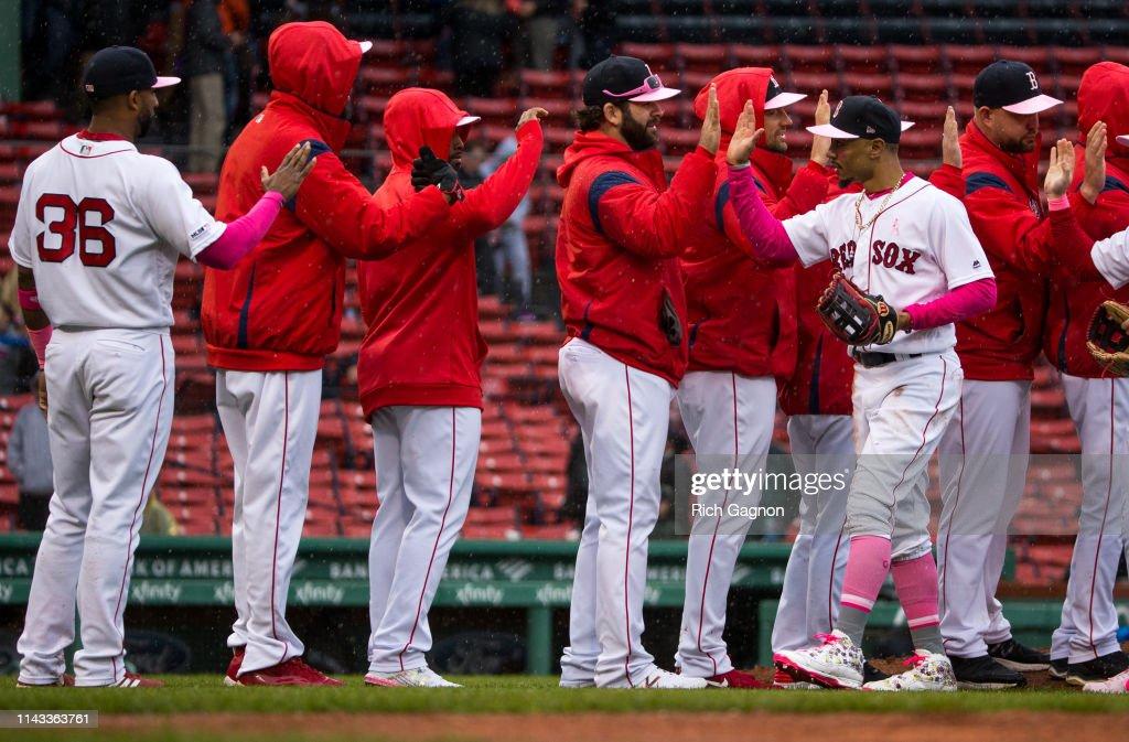 Seattle Mariners v Boston Red Sox : News Photo