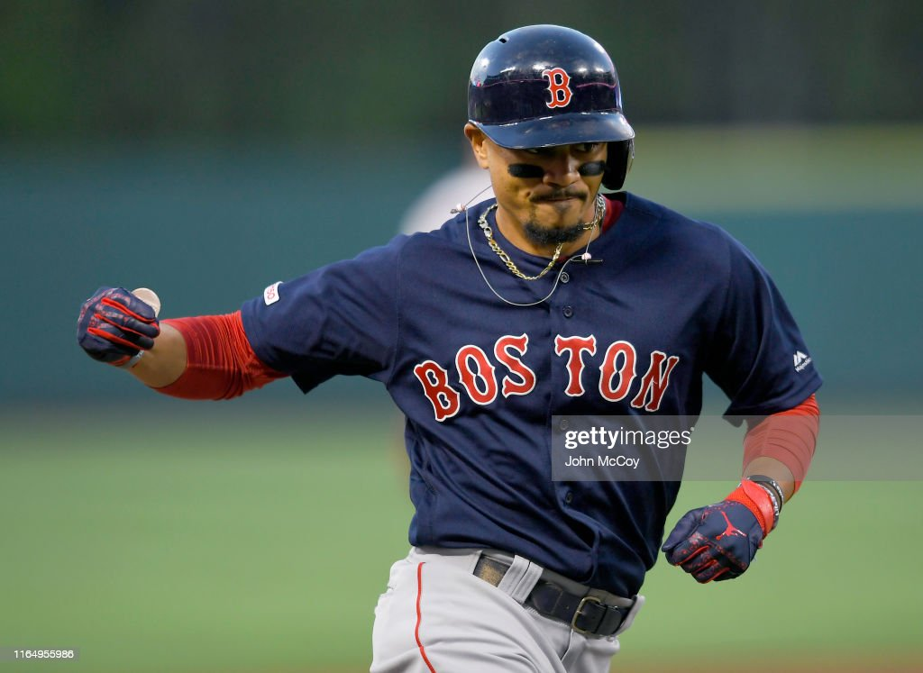 Boston Red Sox v Los Angeles Angels : News Photo