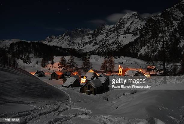 moolight shadow - piedmont italy stock pictures, royalty-free photos & images
