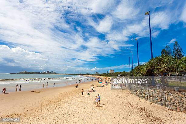 mooloolaba beach, queensland - mooloolaba stock pictures, royalty-free photos & images