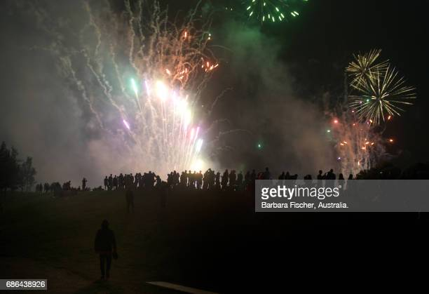 Moomba fireworks