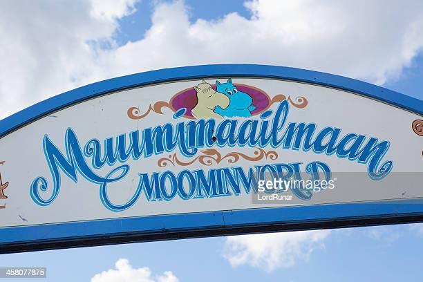 Moominworld サイン