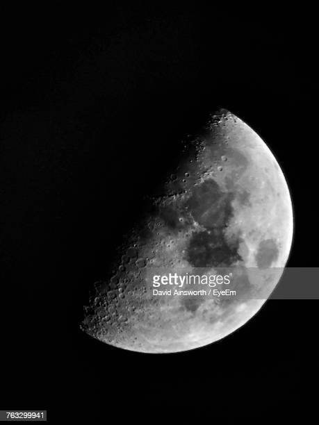 Moon Against Sky At Night