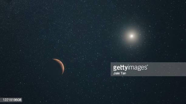moon and galaxy - jupiter planet stock pictures, royalty-free photos & images