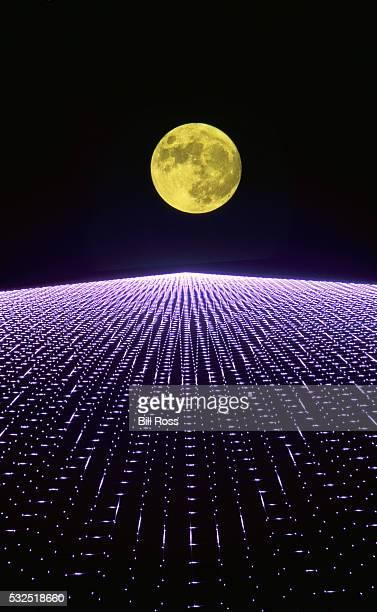 Moon and Lights