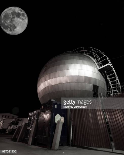 moon and the sphere