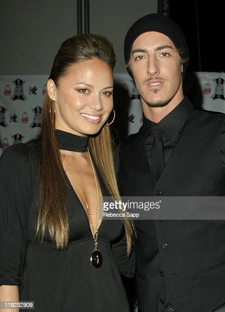 Moon Bloodgood and Eric Balfour during Inaugural Arby's Action Sports Awards Red Carpet and Show at Center Staging in Burbank California United States