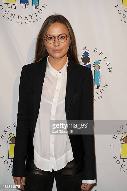 Moon Bloodgood attends the Dream Keeper Awards at House of Blues Sunset Strip on March 6 2011 in West Hollywood California