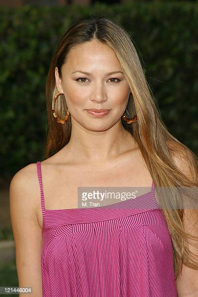 Moon Bloodgood during 2007 AZN Asian Excellence Awards Arrivals at Royce Hall UCLA Campus in Westwood California United States