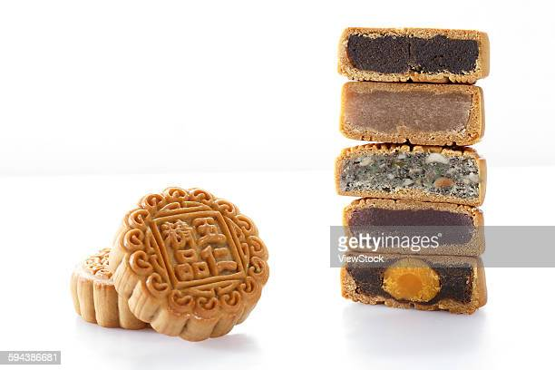 moon cake - moon cake stock pictures, royalty-free photos & images