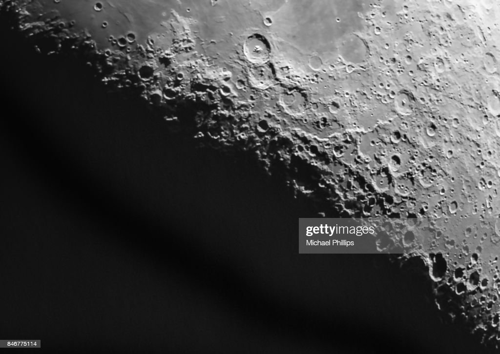 Moon Closeup : Stock Photo