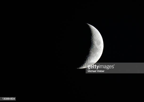 Moon, crescent moon, Germany, Europe
