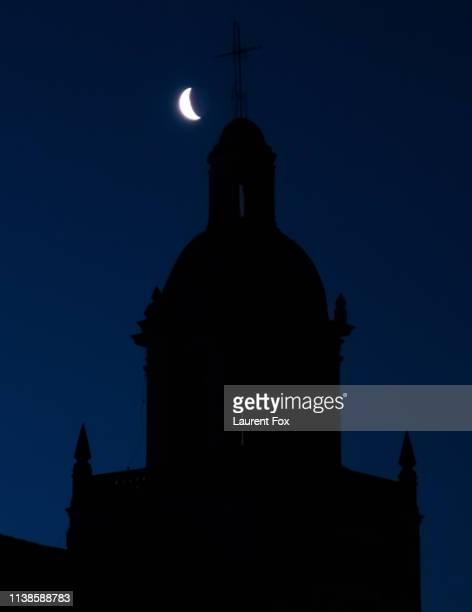 moon dome - provinz leon stock-fotos und bilder