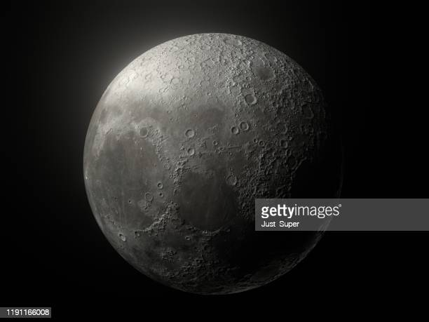 moon glow black background - moon stock pictures, royalty-free photos & images