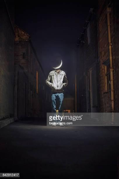 Moon Head (Man On The Moon)